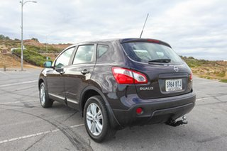 2013 Nissan Dualis J10W Series 3 MY12 ST Hatch 2WD Purple 6 Speed Manual Hatchback