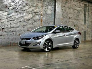 2014 Hyundai Elantra MD3 Premium Silver 6 Speed Sports Automatic Sedan.