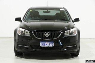 2015 Holden Commodore VF MY15 Evoke Black 6 Speed Automatic Sedan.