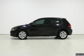 2015 Volkswagen Golf AU MY15 90 TSI Comfortline Black 7 Speed Auto Direct Shift Hatchback