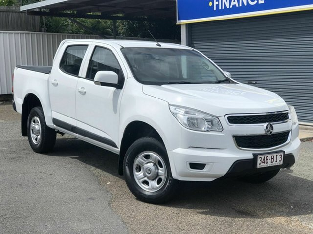 Used Holden Colorado RG MY16 LS Crew Cab 4x2 Chermside, 2015 Holden Colorado RG MY16 LS Crew Cab 4x2 White 6 Speed Sports Automatic Utility