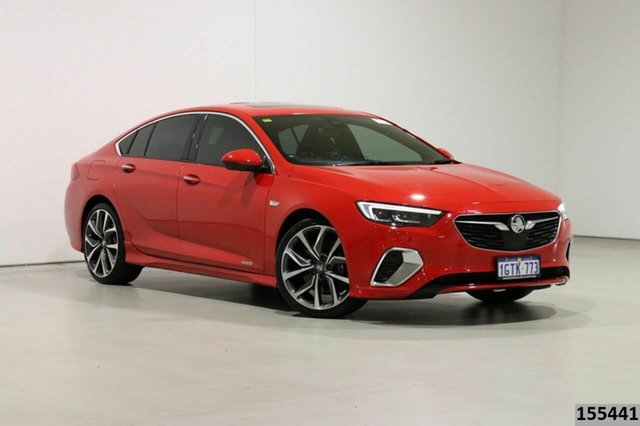 Used Holden Commodore ZB VXR Bentley, 2018 Holden Commodore ZB VXR Red 9 Speed Automatic Liftback