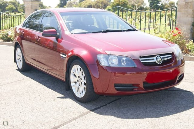 Used Holden Commodore VE MY09.5 Omega (D/Fuel) 60th Ann Blair Athol, 2008 Holden Commodore VE MY09.5 Omega (D/Fuel) 60th Ann Red 4 Speed Automatic Sedan