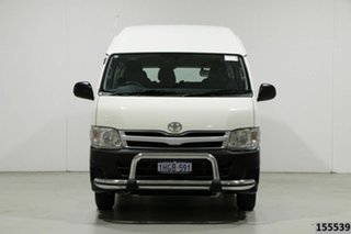 2012 Toyota HiAce KDH223R MY12 Upgrade Commuter White 4 Speed Automatic Bus.