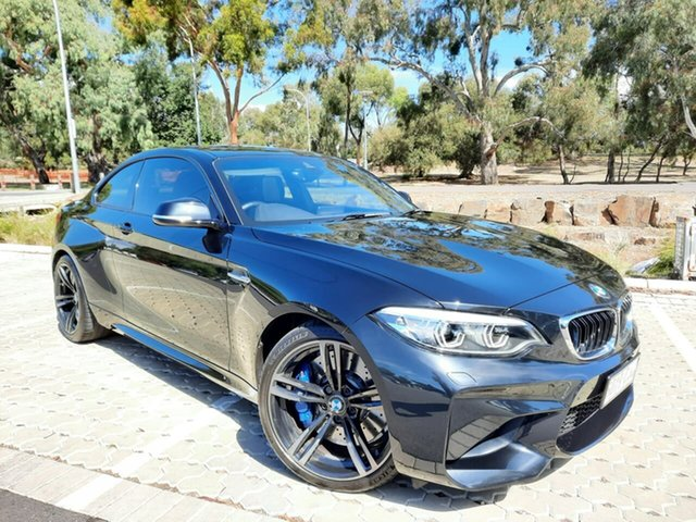 Used BMW M2 F87 LCI D-CT Adelaide, 2017 BMW M2 F87 LCI D-CT Black 7 Speed Sports Automatic Dual Clutch Coupe