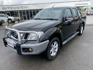 2013 Nissan Navara D40 S6 MY12 ST Black 6 Speed Manual Utility
