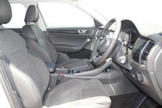 2021 Skoda Kodiaq NS MY21 132TSI DSG Brilliant Silver 7 Speed Sports Automatic Dual Clutch Wagon