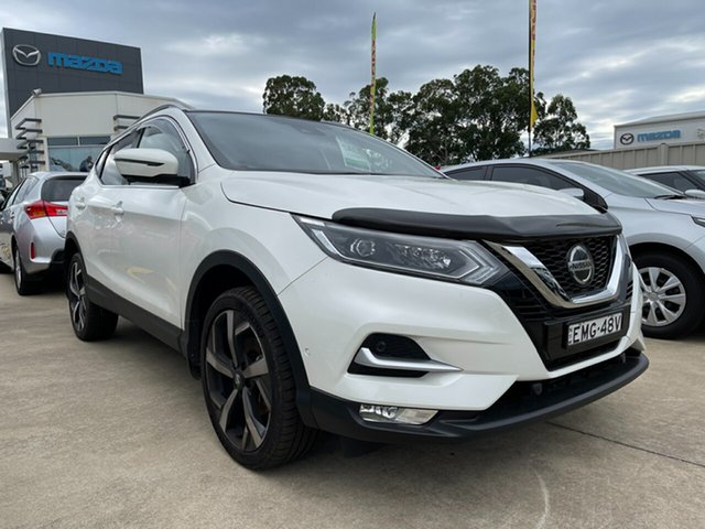 Used Nissan Qashqai J11 Series 3 MY20 Ti X-tronic Glendale, 2020 Nissan Qashqai J11 Series 3 MY20 Ti X-tronic White 1 Speed Constant Variable Wagon
