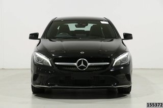 2018 Mercedes-Benz CLA200 117 MY18 Black 7 Speed Automatic Coupe.