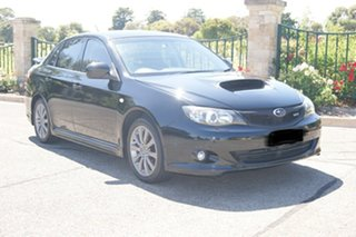 2010 Subaru Impreza MY10 WRX (AWD) Black 5 Speed Manual Sedan.
