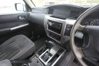 2005 Nissan Patrol GU IV MY05 ST-S Black 4 Speed Automatic Wagon.