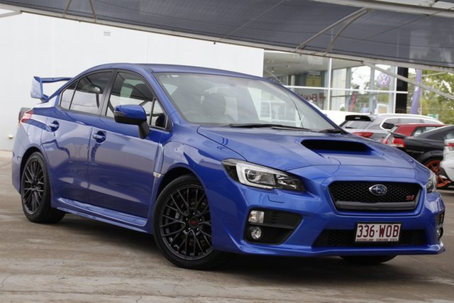 Used Subaru WRX V1 MY17 STI AWD Bundamba, 2016 Subaru WRX V1 MY17 STI AWD Blue 6 Speed Manual Sedan