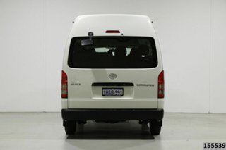 2012 Toyota HiAce KDH223R MY12 Upgrade Commuter White 4 Speed Automatic Bus
