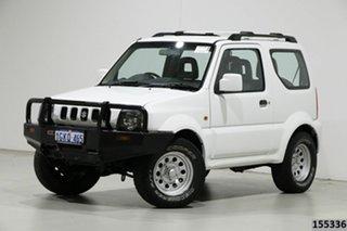 2012 Suzuki Jimny Sierra (4x4) White 5 Speed Manual 4x4 Wagon.