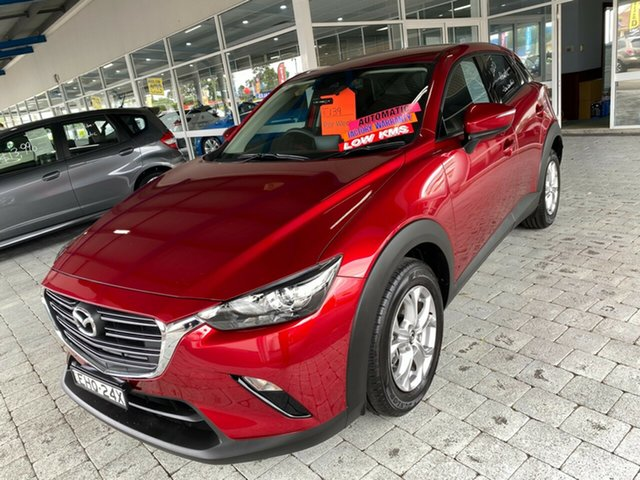 Used Mazda CX-3 Taree, 2020 Mazda CX-3 Maxx - Sport Red Sports Automatic Wagon