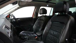 2017 Volkswagen Tiguan 5N MY17 162TSI DSG 4MOTION Highline Orange 7 Speed