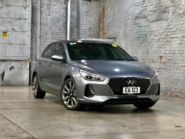 Used Hyundai i30 PD MY18 SR Mile End South, 2017 Hyundai i30 PD MY18 SR Grey 6 Speed Manual Hatchback