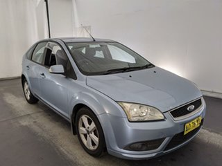 2007 Ford Focus LT LX Blue 4 Speed Sports Automatic Hatchback.
