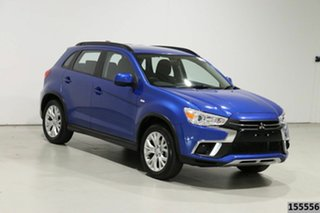 2019 Mitsubishi ASX XC MY19 ES (2WD) Blue Continuous Variable Wagon