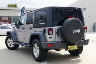 2015 Jeep Wrangler JK MY2015 Unlimited Sport Silver 5 Speed Automatic Softtop