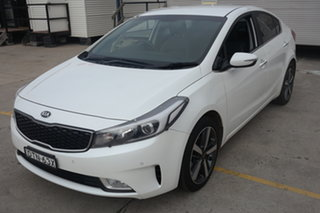 2017 Kia Cerato YD MY18 Sport+ White 6 Speed Sports Automatic Sedan.