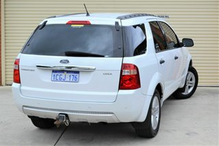 2006 Ford Territory SY Ghia AWD White 6 Speed Sports Automatic Wagon