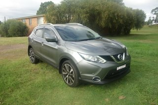 2016 Nissan Qashqai J11 TI Grey 1 Speed Constant Variable Wagon.