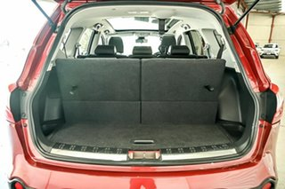 2012 Nissan Dualis J107 Series 3 MY12 +2 X-tronic AWD Ti-L Red 6 Speed Constant Variable Hatchback