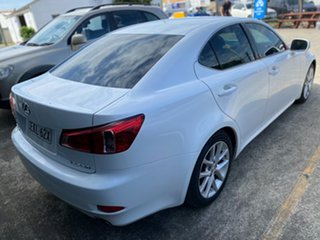 2011 Lexus IS GSE20R MY11 IS250 Sports Luxury White 6 Speed Sports Automatic Sedan