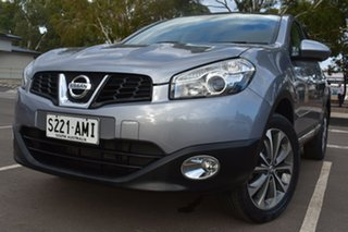 2010 Nissan Dualis J10 MY2009 Ti Hatch X-tronic Silver 6 Speed Constant Variable Hatchback.