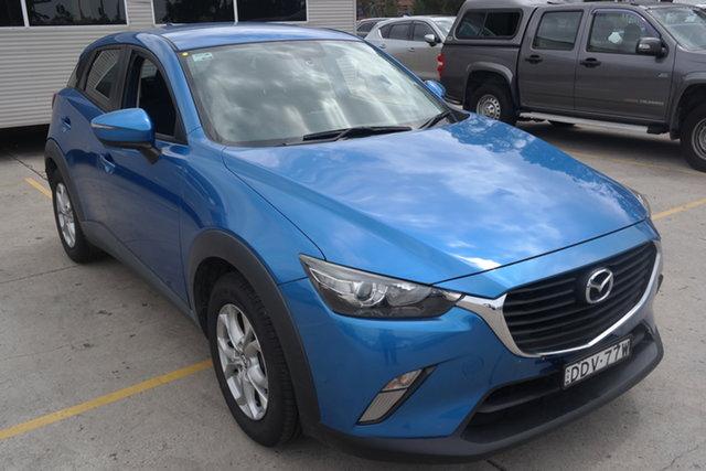 Used Mazda CX-3 DK2W7A Maxx SKYACTIV-Drive Maryville, 2016 Mazda CX-3 DK2W7A Maxx SKYACTIV-Drive Blue 6 Speed Sports Automatic Wagon