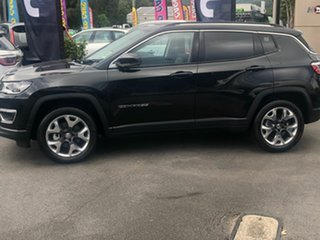 2020 Jeep Compass M6 MY20 Limited Brilliant Black Crystal Pearl 9 Speed Automatic Wagon.