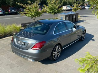 2016 Mercedes-Benz C-Class W205 807MY C200 7G-Tronic + Grey 7 Speed Sports Automatic Sedan
