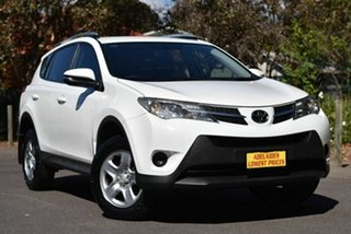 2015 Toyota RAV4 ZSA42R MY14 GX 2WD White 7 Speed Constant Variable Wagon.