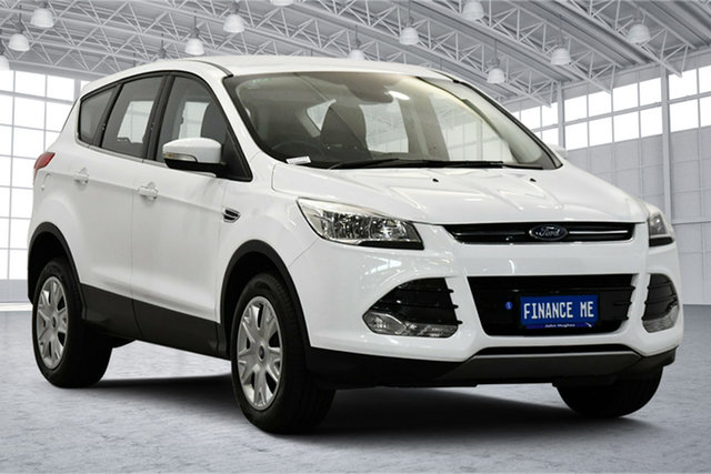 Used Ford Kuga TF MY15 Ambiente 2WD Victoria Park, 2015 Ford Kuga TF MY15 Ambiente 2WD White 6 Speed Sports Automatic Wagon