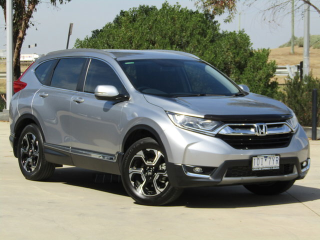 Used Honda CR-V RW MY18 VTi-S 4WD Ravenhall, 2018 Honda CR-V RW MY18 VTi-S 4WD Lunar Silver 1 Speed Constant Variable Wagon