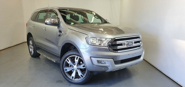 Used Ford Everest UA Titanium Elizabeth, 2015 Ford Everest UA Titanium Silver 6 Speed Sports Automatic SUV