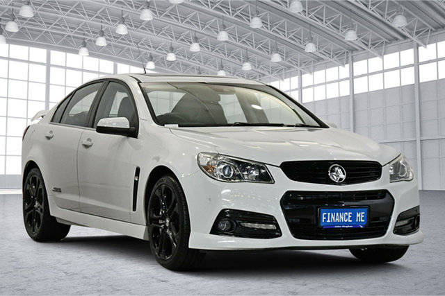 Used Holden Commodore VF MY15 SS V Redline Victoria Park, 2015 Holden Commodore VF MY15 SS V Redline White 6 Speed Sports Automatic Sedan