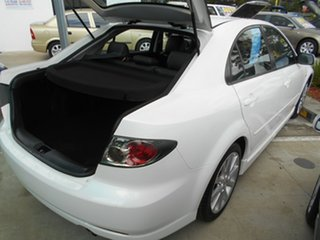 2006 Mazda 6 GG1032 Luxury White 5 Speed Sports Automatic Hatchback