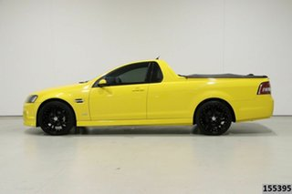2010 Holden Commodore VE II SV6 Yellow 6 Speed Manual Utility