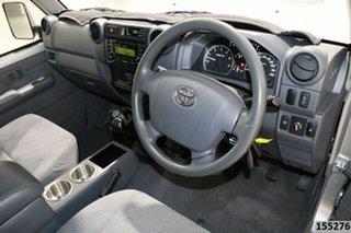 2015 Toyota Landcruiser VDJ76R MY12 Update GXL (4x4) Silver 5 Speed Manual Wagon