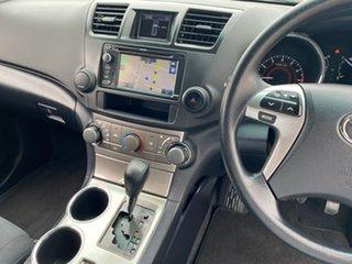 2012 Toyota Kluger GSU45R KX-R White Sports Automatic SUV