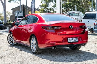 2019 Mazda 3 BP2SLA G25 SKYACTIV-Drive GT Red 6 Speed Sports Automatic Sedan.
