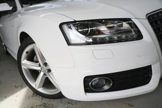 2010 Audi A5 8T 2.0 TFSI White CVT Multitronic Coupe.