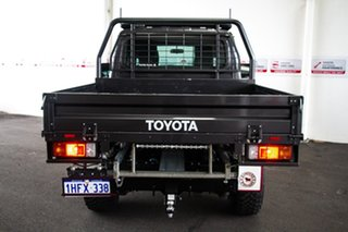 2020 Toyota Landcruiser VDJ79R GXL Double Cab Graphite 5 Speed Manual Cab Chassis