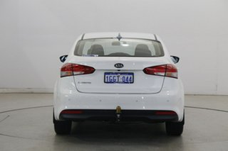 2017 Kia Cerato YD MY17 S Clear White 6 Speed Sports Automatic Sedan