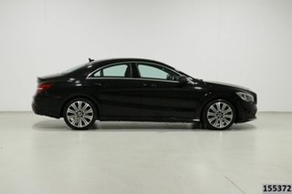 2018 Mercedes-Benz CLA200 117 MY18 Black 7 Speed Automatic Coupe