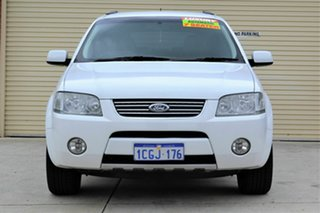 2006 Ford Territory SY Ghia AWD White 6 Speed Sports Automatic Wagon.