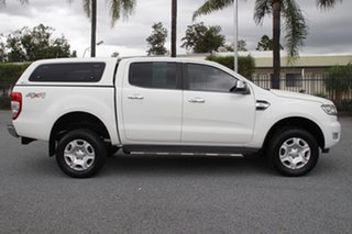 2016 Ford Ranger PX MkII XLT Double Cab Cool White 6 Speed Sports Automatic Utility