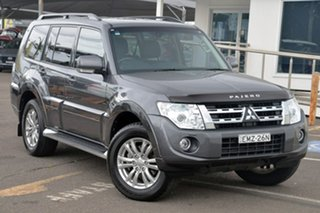 2014 Mitsubishi Pajero NW MY14 VR-X Grey 5 Speed Sports Automatic Wagon